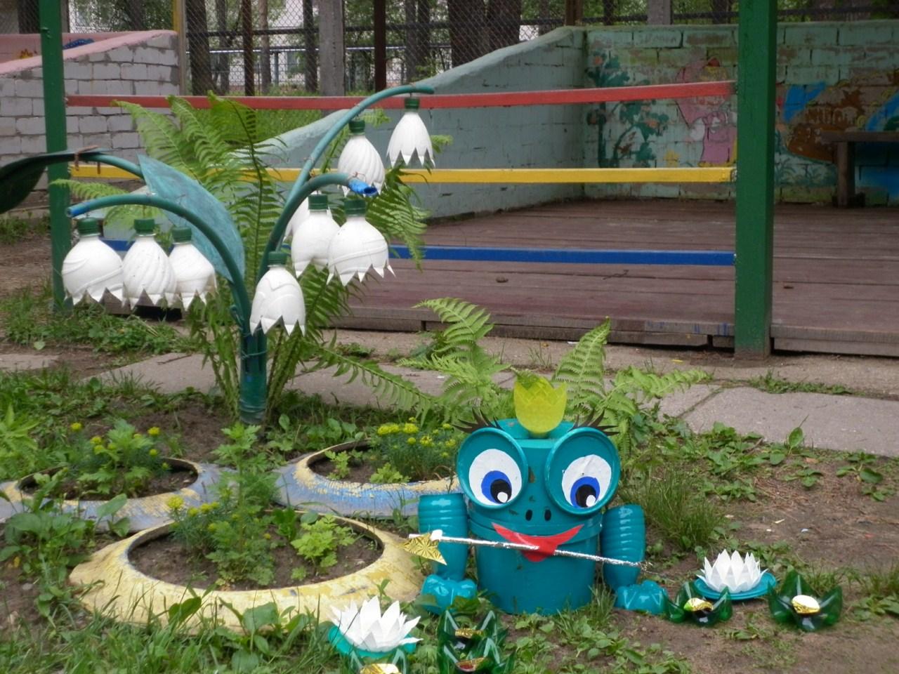 Картинки оформления участка в детском саду своими руками фото